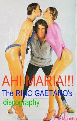 Rino Gaetano scherza con due modelle (Foto da www.marietto.net)